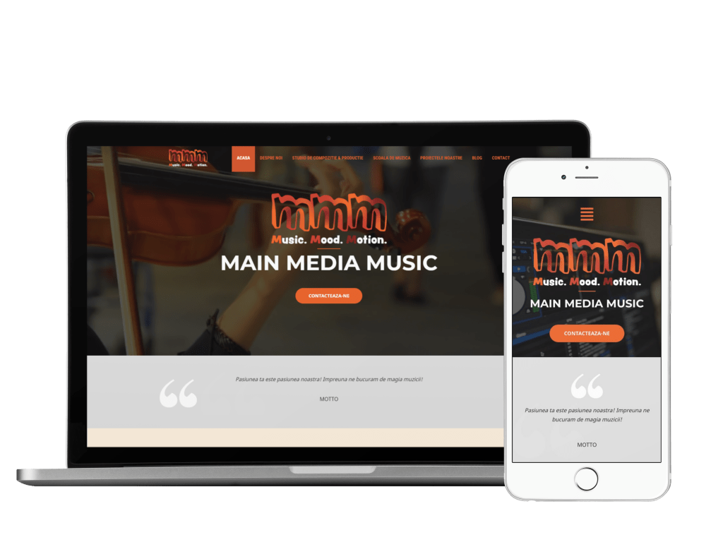 mainmediamusic website